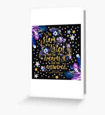 ACOMAF - To the Stars Greeting Card