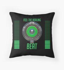 Feel the Healing Beat! Throw Pillow