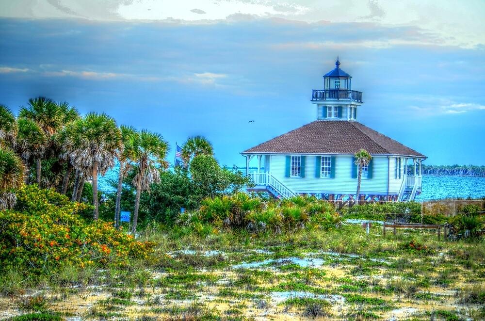Boca Grande Lighthouse by Ronald Williams