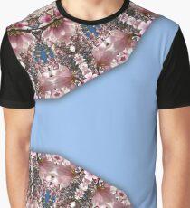 Spring blossoms, Nature Flower Mandala 006.6 Graphic T-Shirt