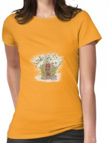 In the Flowers Womens Fitted T-Shirt