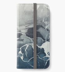 Blue Sea Marble iPhone Wallet/Case/Skin