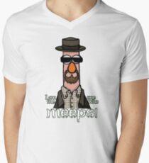 I am the one who meeps! Men's V-Neck T-Shirt