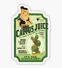 Drink Cactus Juice Sticker