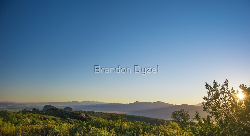 Winter Sunrise by Brandon Dyzel