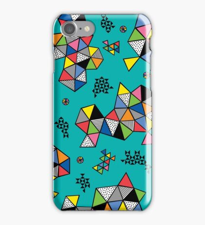Edgewise turq iPhone Case/Skin