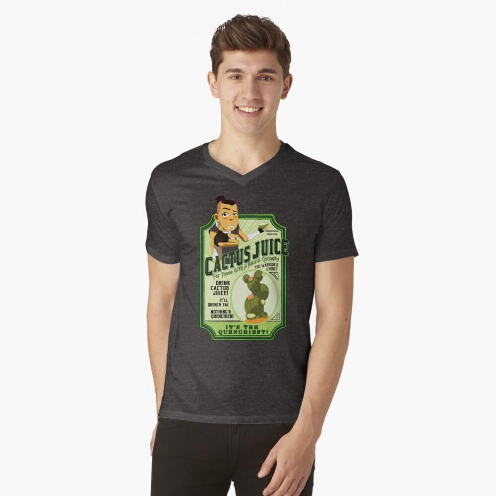 Drink Cactus Juice V-Neck T-Shirt