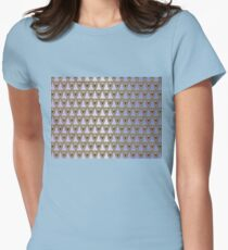 Gilded Ornate Womens Fitted T-Shirt