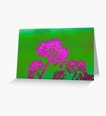 Funky Floral - JUSTART ©  Greeting Card