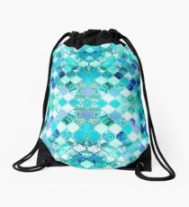 Mermaid tail Drawstring Bag