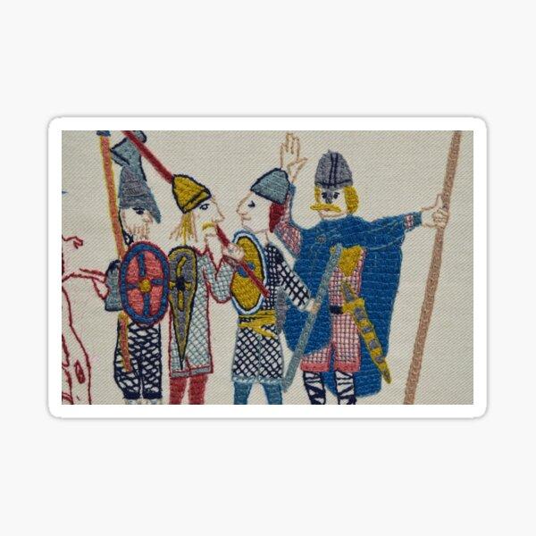 Viking huddle Sticker