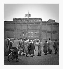 Old Trafford - February 1958 Photographic Print
