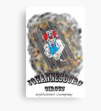 Johannesburg Circus Explosives Metal Print