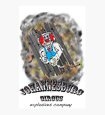 Johannesburg Circus Explosives Photographic Print