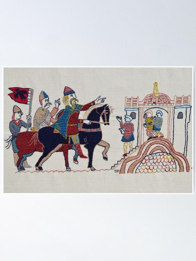 Alternate view of Hardrada reaches York Poster