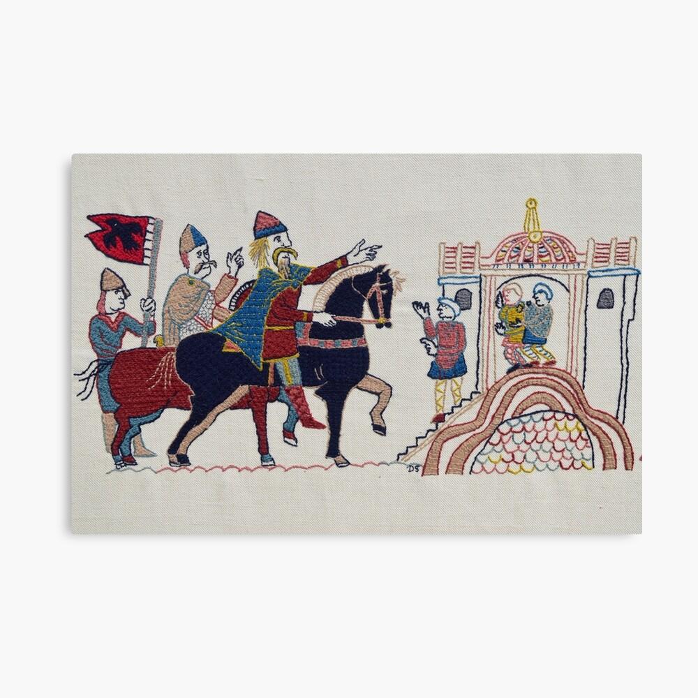 Hardrada reaches York Canvas Print
