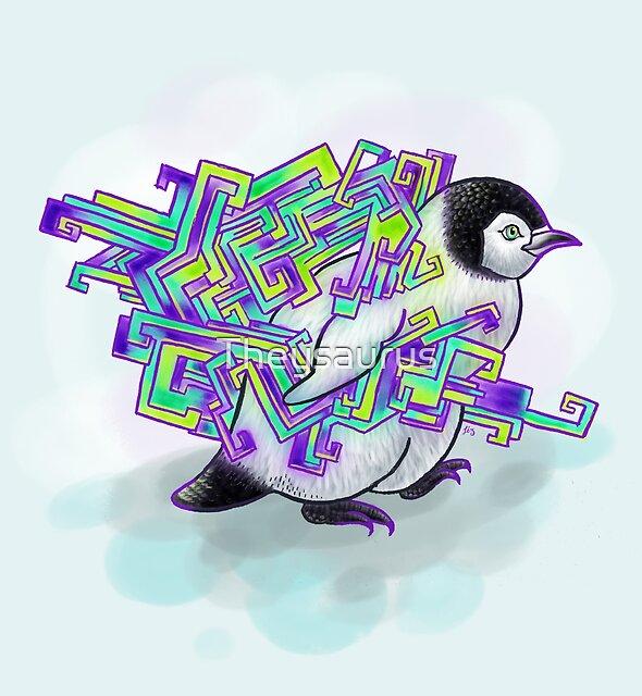 Spirit Penguin by Theysaurus