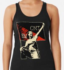 Anarchy Flag Woman - for dark backgrounds Women's Tank Top