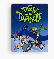 Day Of The Tentacle Canvas Print