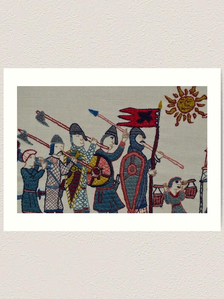 Alternate view of Marching to Stamford Bridge Art Print