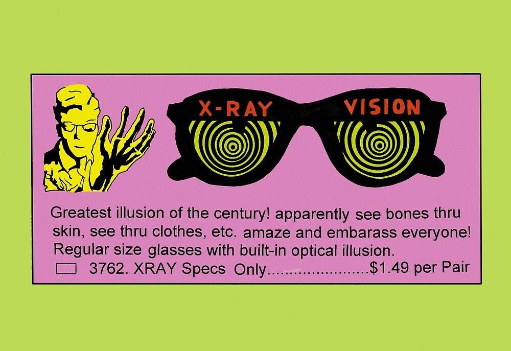 Xray Specs by Ronny Perez