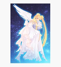 Angels on the Moon Photographic Print