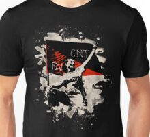 Anarchy Flag Woman - bleached look Unisex T-Shirt