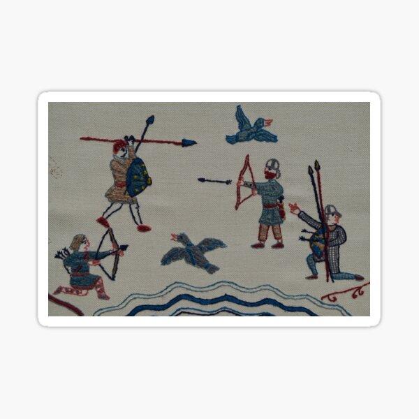 Archers and birds Sticker