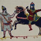The battle begins by Stamford Bridge Tapestry Project