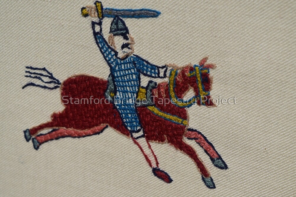 Into the fray by Stamford Bridge Tapestry Project