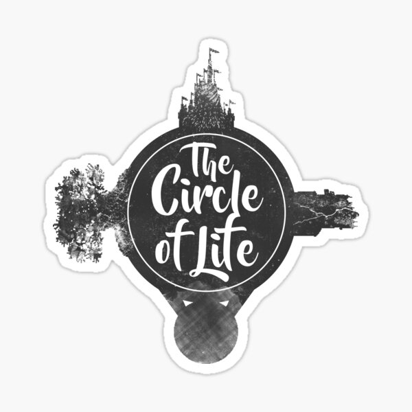 Circle of Life Sticker