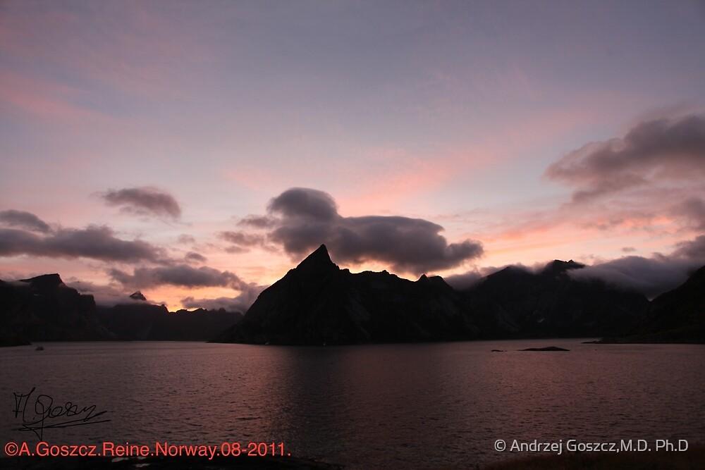Wonderful Remembers Never Fade- My Travel Photography. Lofoten Islands . Norway  Anno Domini 2011. Andrzej Goszcz. by © Andrzej Goszcz,M.D. Ph.D