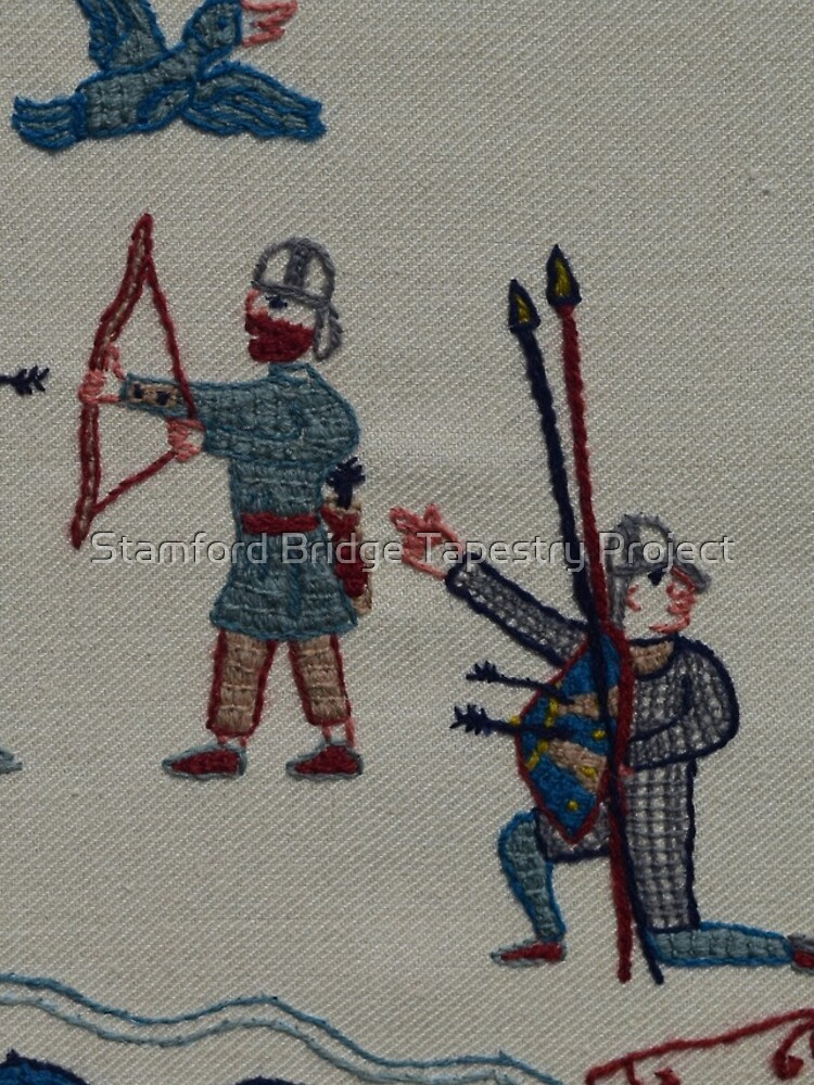Archers and birds by SBTapestry