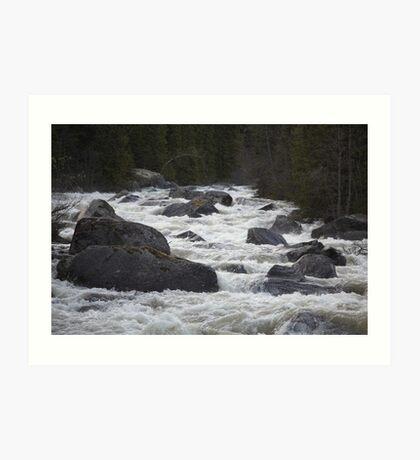 Wonderful Remembers Never Fade- My Travel Photography. Ammarnäs, Sweden  No . 3 . Anno Domini 2016 Andrzej Goszcz. Art Print