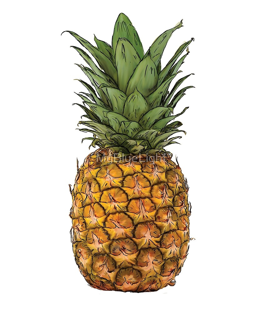 Pineapple by MyBlueLight