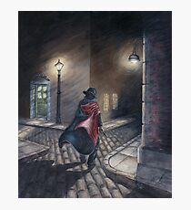 Murder by Gas Lamp Photographic Print