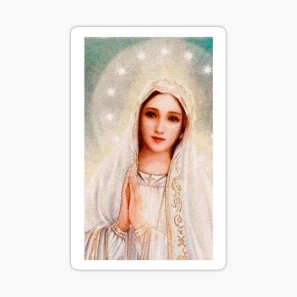 Divina Virgen María, Madre de Cristo Pegatina