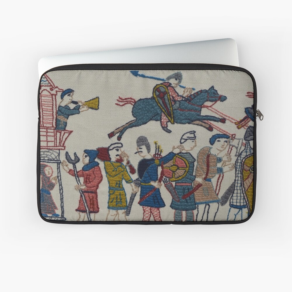Riders and walkers Laptop Sleeve