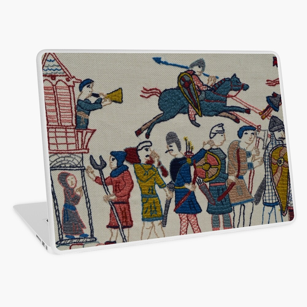 Riders and walkers Laptop Skin