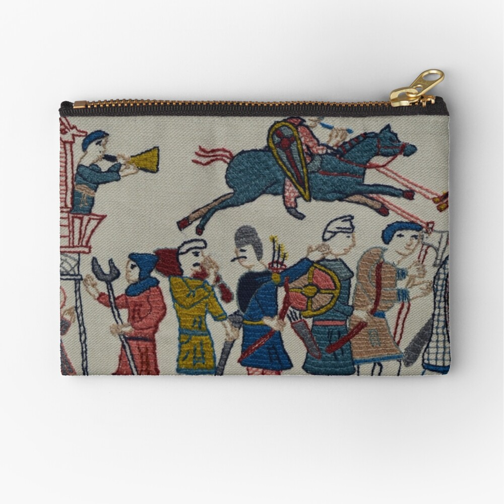 Riders and walkers Zipper Pouch