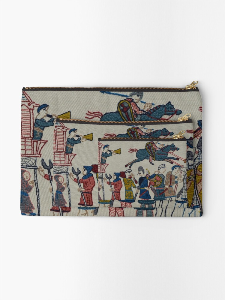 Alternate view of Riders and walkers Zipper Pouch