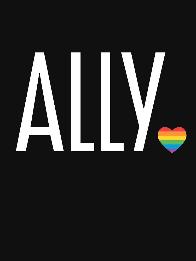 Ally pride (white) by baileycollins