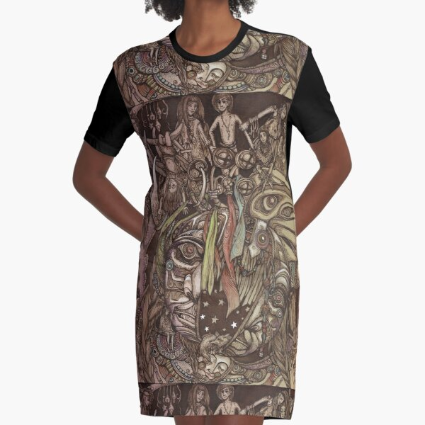 Spirit Graphic T-Shirt Dress