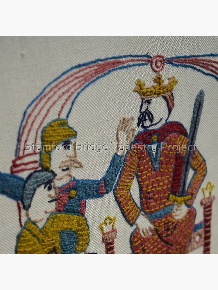 Harold hears of the invasion by SBTapestry