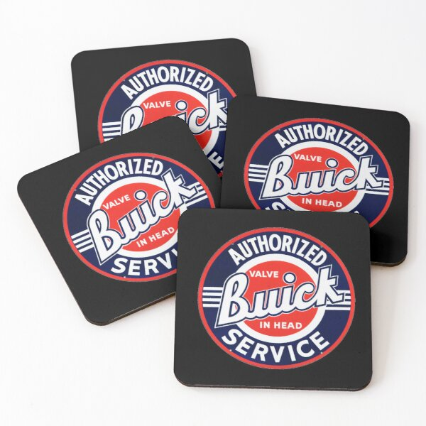 Buick Valve in Head Coasters (Set of 4)