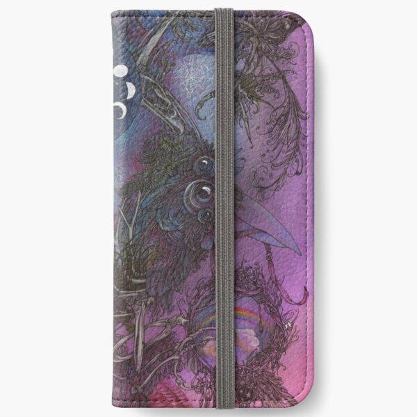 Night Bird iPhone Wallet