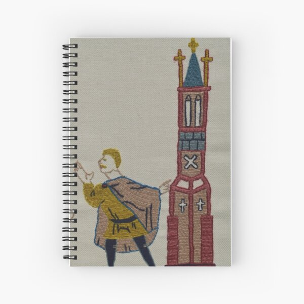 Tower lookout Spiral Notebook