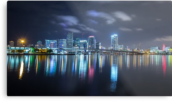 Miami Skyline by MikeKuhnRacing