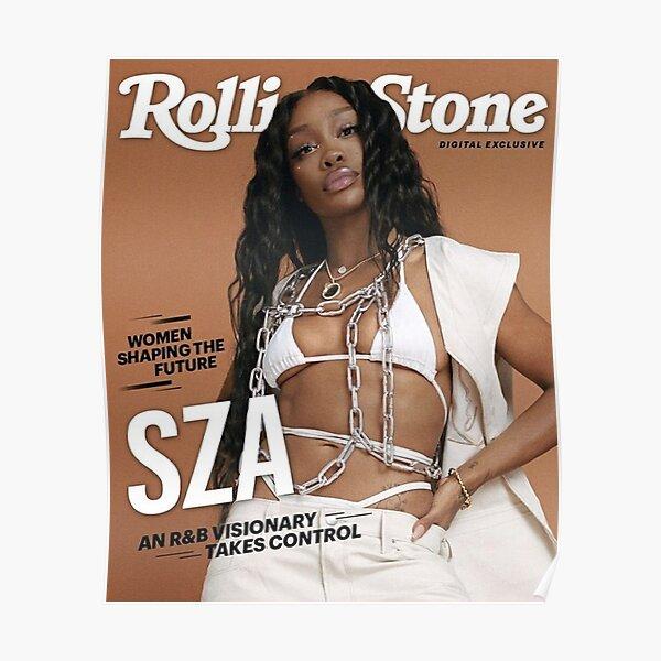 SZA CTRL Rollingstone Poster