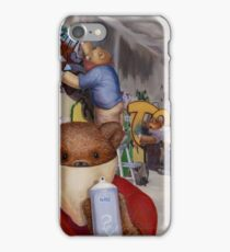Tagger Teddy iPhone Case/Skin